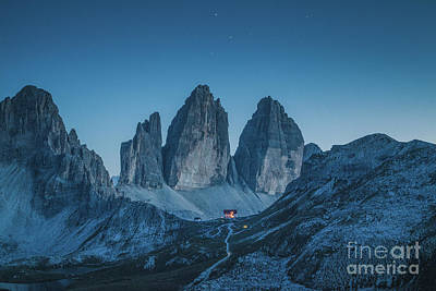 Photograph - Tre Cime Di Lavaredo by JR Photography