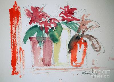 Painting - Tre Piante by Marcia Breznay