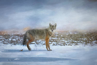 Painting - Treading On Thin Ice by Jai Johnson