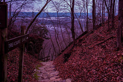 Wyalusing Photograph - Treasure Cave by Scott Perkins