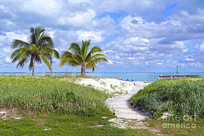 Photograph - Treasure Cay Beach Boardwalk, Bahamas by Catherine Sherman