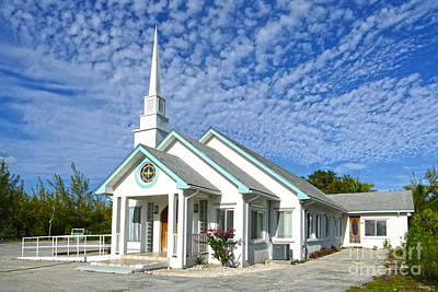 Photograph - Treasure Cay Church, The Bahamas by Catherine Sherman