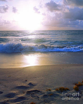 Photograph - Treasure Coast Florida Sunrise Seascape B4 by Ricardos Creations