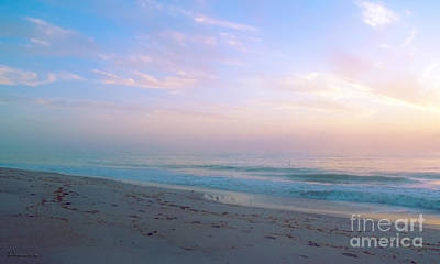 Photograph - Treasure Coast Florida Sunrise Seascape B6 by Ricardos Creations