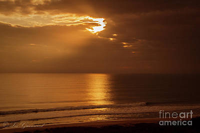 Photograph - Treasure  Coast Sunrise by Les Greenwood