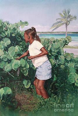 Painting - Treasure Cove by Roshanne Minnis-Eyma
