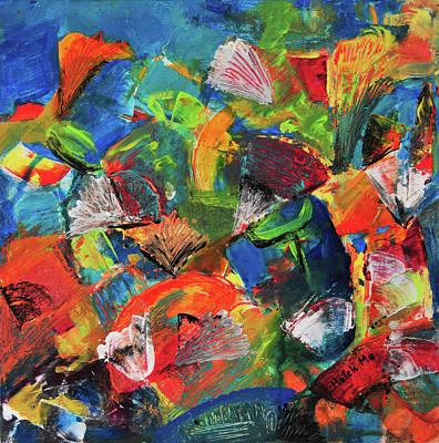 Painting - Treasure  by Haleh Mahbod