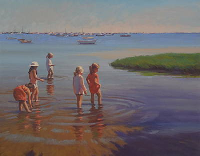 Painting - Treasure Hunters by Dianne Panarelli Miller