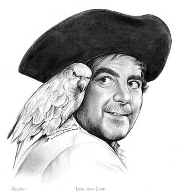 Fantasies Drawing - Treasure Island by Greg Joens