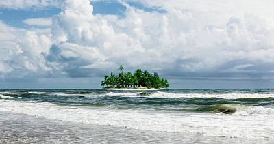 Photograph - Treasure Island Outer Banks by Dan Carmichael