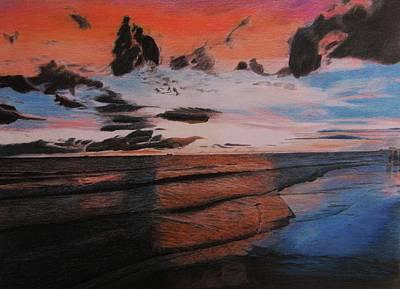 Treasure Island Sunset Art Print