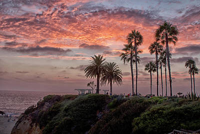 Photograph - Treasure Island Sunset by Tom Kelly