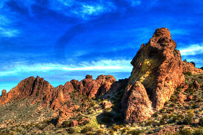 Photograph - Treasure Loop Trail 04 by Roger Passman