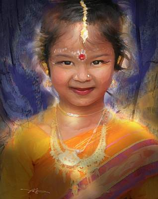 Southeast Asia Painting - Treasure Of South Asia by Bob Salo