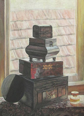 Treasure Box Painting - Treasure Tower by Marija Zivanovic