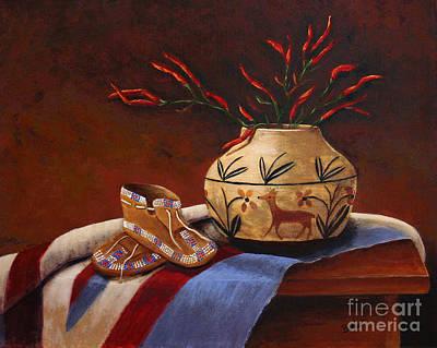 Pepper Painting - Treasured Memories by Paul Burkhart