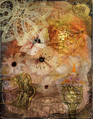 Digital Art - Treasures by Linda Carruth