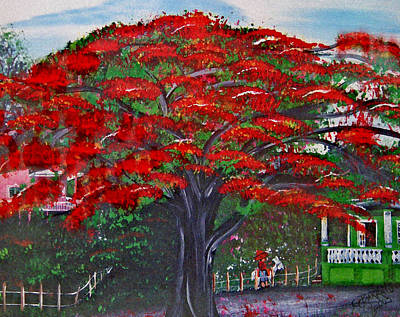 Puerto Rico Painting - Treasures Of Puerto Rico by Gloria E Barreto-Rodriguez