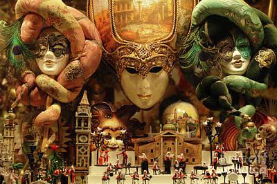 Treasures Of Venice Art Print by Bob Christopher