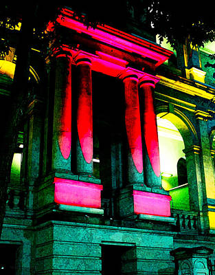 Photograph - Treasury Casino by Susan Vineyard