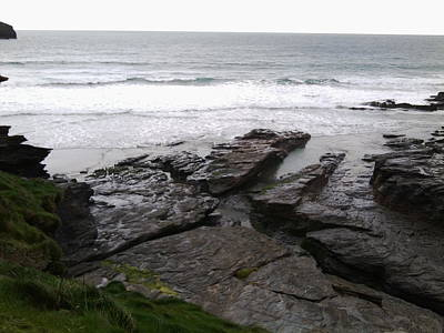 Photograph - Trebarwith, Cornwall 2 by Julia Woodman