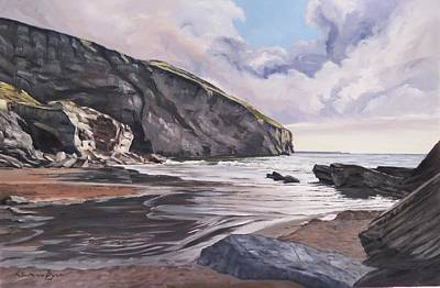 Painting - Trebarwith Strand by Lawrence Dyer