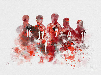 Treble Winners 1999 Art Print by Rebecca Jenkins