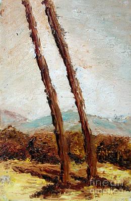 Painting - Tree by Alessandro Nesci