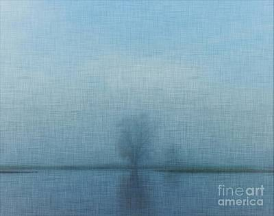 Tree Among Waters Art Print by Inspired Arts