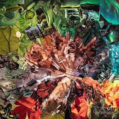 Mixed Media - Tree by Andrea Ignacio