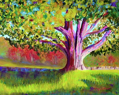 Painting - Tree At Hill-stead Museum by Polly Castor