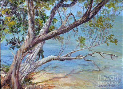 Painting - Tree At Islamorada Key by Deborah Smith