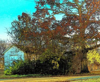 Photograph - Tree At The Station by Joyce Kimble Smith