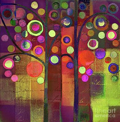 Painting - Tree Bubble Dio - A5502s by Variance Collections