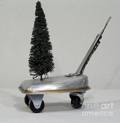 Sculpture - Tree Cart by Bill Thomson