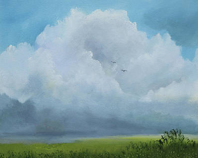 Painting - Tree Cloud by Alicia Maury