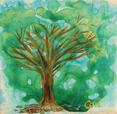 Painting - Tree by Corinne Carroll