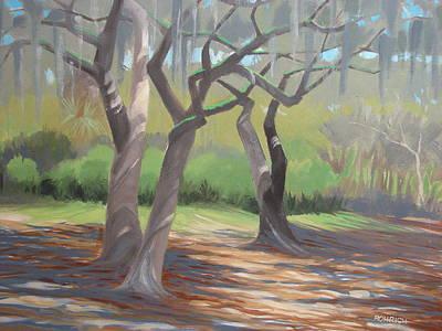 Tree Dance Art Print by Robert Rohrich