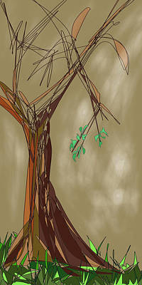 Digital Art - Tree by Denny Casto