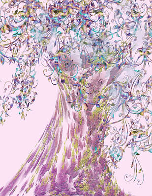 Digital Art - Tree Fancy by Katy Breen
