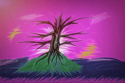 Digital Art - Tree Fantasy #g6 by Leif Sohlman