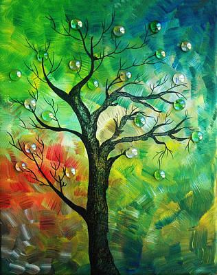 Tree Fantasy Art Print by Ramneek Narang