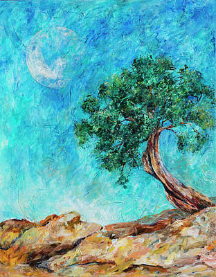 Painting - Tree Fantasy by Sally Quillin