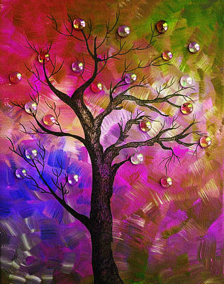 Fantasy Tree Art Painting - Tree Fantasy2 by Ramneek Narang