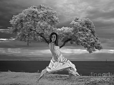 Photograph - Tree Girl 1209040 by Rolf Bertram