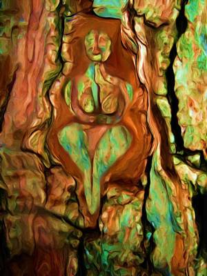 Painting - Tree Goddess by Shelley Bain