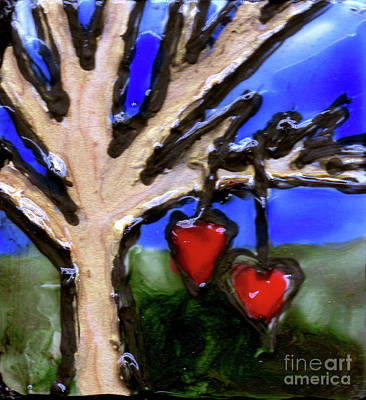 Painting - Tree Hearts by Genevieve Esson