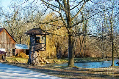 Photograph - Tree House At The Cider Mill by David Arment