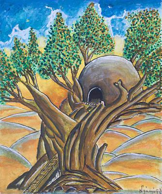 Tree House Art Print by Ken Nganga