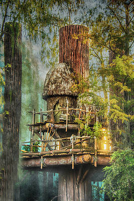 Photograph - Tree House by Pamela Williams